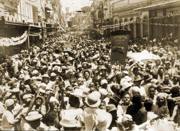Carnaval na Maceió dos meus avós