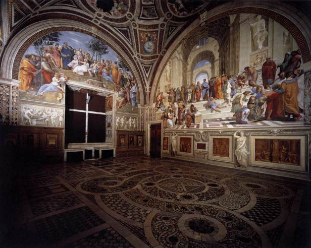 Meu quadro favorito: Escola de Atenas