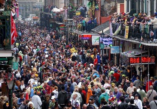 Grandes festas V. Mardi Gras: carnaval gringo?