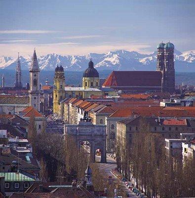 Minhas cidades preferidas III. Munique