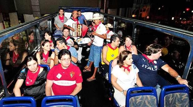 Importando ideias e projetos IV. Sightseeing-bus em Maceió