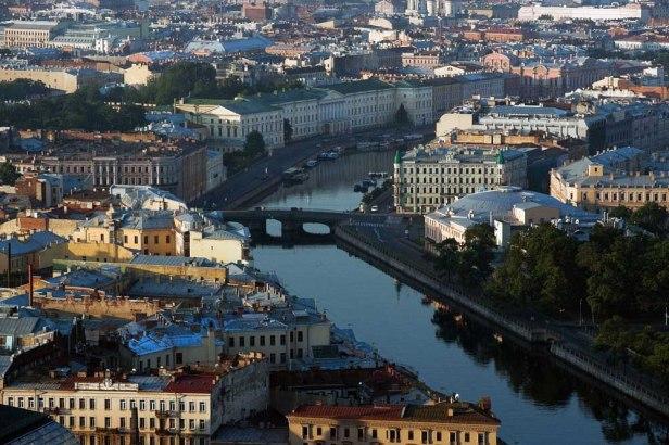 Lugares que ainda vou conhecer IV. São Petesburgo (Rússia)