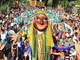 Estatísticas culturais do Brasil VI. Porcentual de municípios com grupos artísticos de blocos carnavalescos por Unidade Federativa