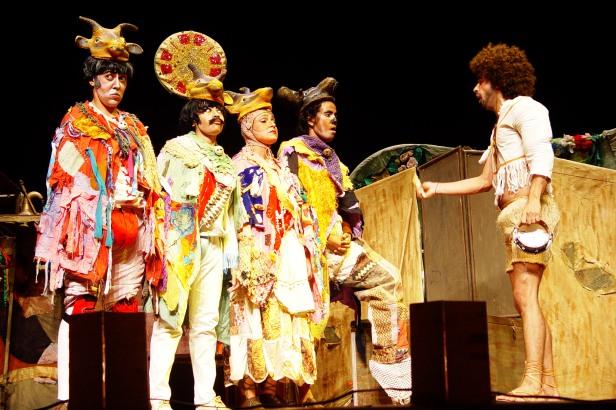 Estatísticas culturais do Brasil II. Percentual de municípios com grupos de teatro por Unidade Federativa