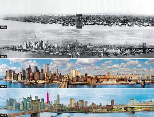 Em poucos anos, tudo pode mudar V. Nova Iorque