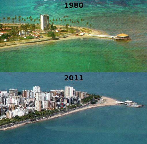 Em poucos anos, tudo pode mudar III. Ponta Verde (Maceió)