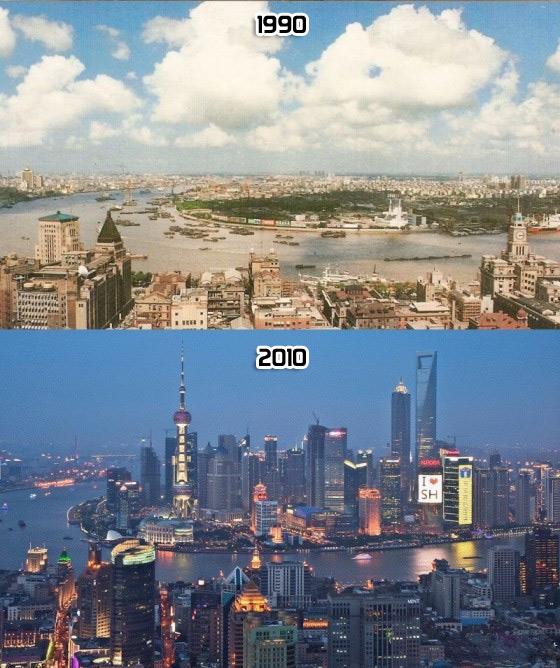 Em poucos anos, tudo pode mudar IV. Xangai