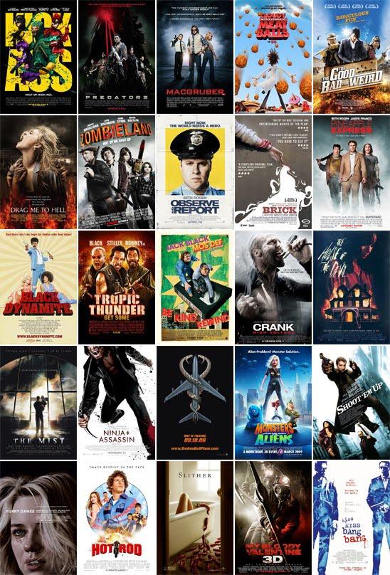 Cinema: quais são os gêneros de filmes? e qual o seu favorito?