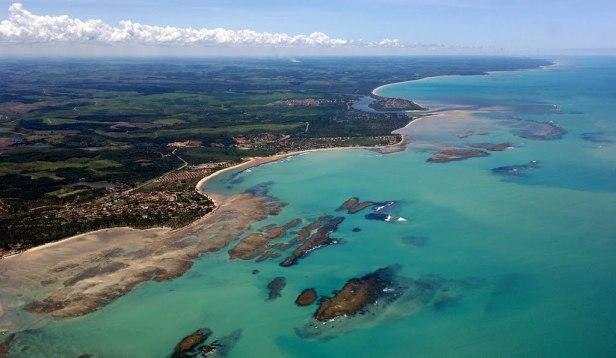 Praia de São Miguel dos Milagres em Alagoas
