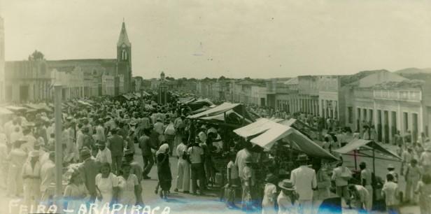 A tradicional feira de Arapiraca