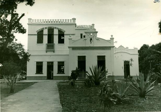 A antiga Faculdade de Odontologia de Maceió