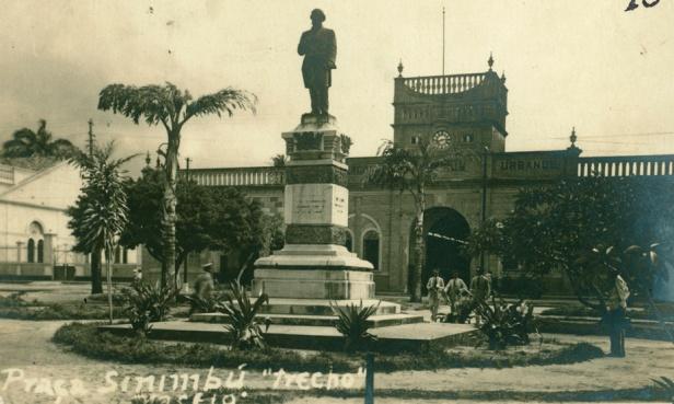 Praça Sinimbú de outrora