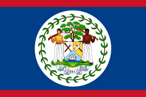 Qual a única bandeira de uma nação que traz seres humanos em seu desenho?